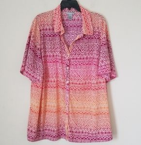Catherines Multicolored Blouse